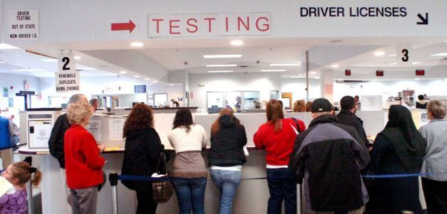 Six ways to stay entertained at the dmv dmv appointments for Bureau of motor vehicles michigan road license branch indianapolis in